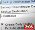 DeskManager Backup Utility Video